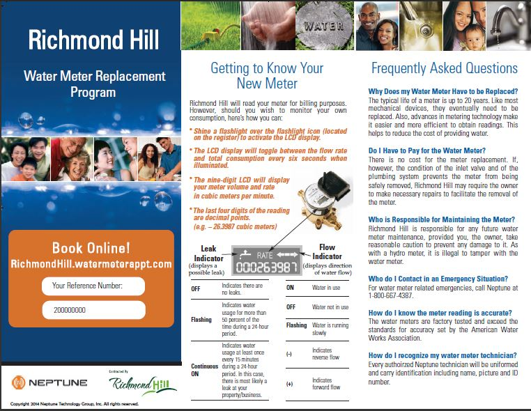 neptune richmond hill brochure